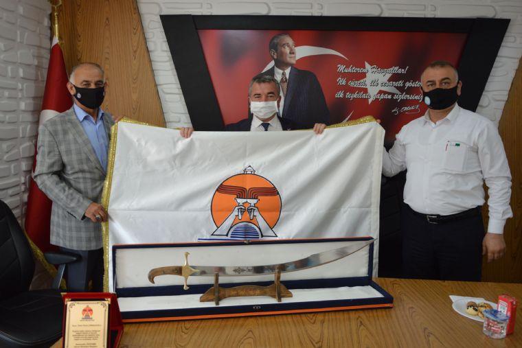 Havza Belediyesinde Emekli Personele Tören