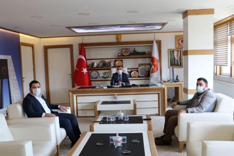 Ak Parti Samsun İl Gençlik Kollarından Başkan Özdemir'e ziyaret