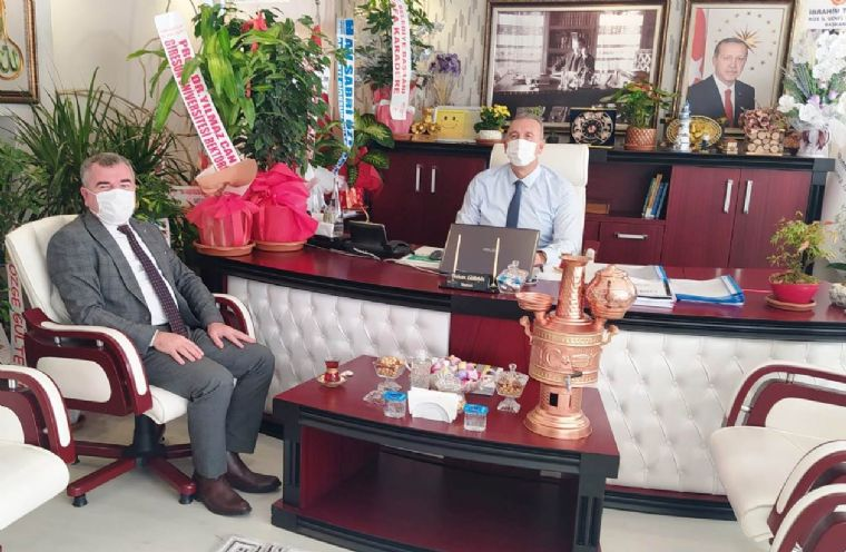 Başkan Özdemir'den Dokap'a Ziyaret