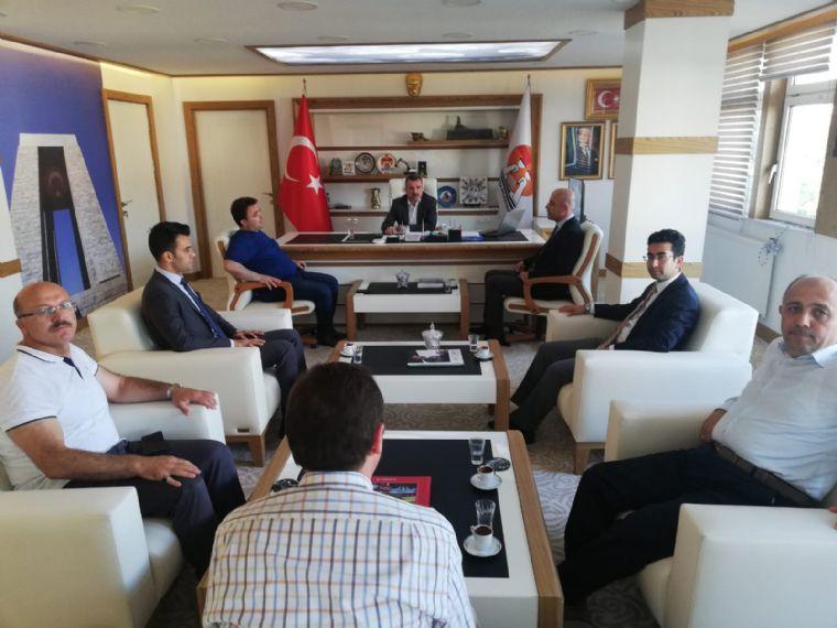 İl Müdürü Kasapoğlu'n Dan Kaymakam YILMAZ ve Belediye Başkanı Özdemir'e Ziyaret
