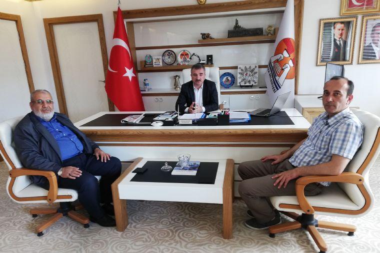 İlçe Müftüsünden Başkan Özdemir'e Ziyaret