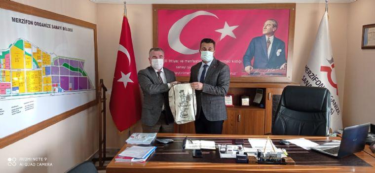Havza Belediye Başkanı Özdemir'den Merzifon Osb'ye Ziyaret