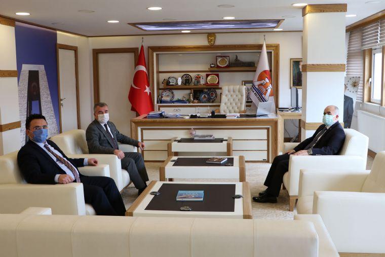 Samsun Valisi Dağlı'dan Havza Belediyesine Ziyaret