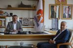 Belediye Başkanı Özdemir'e Ziyaret