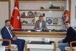 Atakum'dan Başkan Özdemir'e Ziyaret