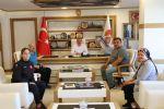 Genç Bayan Güreşçiden Başkan Özdemir'e Ziyaret