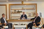 AK Parti Havza İlçe Başkanı Kadir Kayan ve ilçe teşkilatı Havza Belediye Başkanı Sebahattin Özdemir'e hayırlı olsun ziyaretinde bulundu.