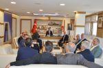 Başkan Özdemir'e Ziyaret