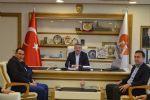 Saski Genel Müdürü Fatih Yıldız'dan Başkan Özdemir'e Ziyaret