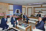 Belediye ve Özel İdare Çalışanları Birliği Sendikası ( Bem-bir-sen ) Samsun Şube Başkanı Savaş Gayretli, Havza Belediye Başkanı Sebahattin Özdemir'i Ziyaret Etti.