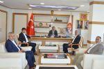 Türkiye Harp Malulü Gaziler, Şehit, Dul ve Yetimleri Derneği Samsun Şube Başkanı ile Yönetim Kurulu Üyeleri Havza Belediye Başkanı Sebahattin Özdemir'i Ziyaret Ettiler.