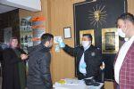 Havza'da Koronavirüs Tedbirleri