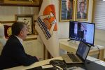 Başkan Özdemir Meclis Üyelerini Video Konferans Aracılığıyla Bilgilendirdi