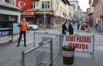 Havza Belediyesi Pazar Girişlerinde Maske Dağıttı