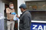 Havza Belediyesi Pazar Yerlerinde Maske Dağıtımına Devam Edildi