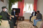 Kaymakam Yılmaz ve Başkan Özdemir Şehit Ailelerine Ziyaret