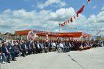 Atatürk ve silah arkadaşlarının Havza'ya gelişinin 100. yılı dönümünde Havza Organize Sanayi Bölgesinde (OSB) toplu temel atma töreni düzenlendi.