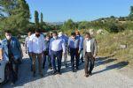 Samsun Büyükşehir Belediye Başkanı Demir Havza'da