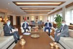 Havza Belediye Başkanı Özdemir ve Ak Parti İlçe Başkanı Kayan'dan Ankara Ziyaret