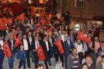 Büyük Önder Mustafa Kemal Atatürk'ün Havza'ya Gelişinin 100. Yıl Dönümü Dolayısıyla Fener Alayı ve Havai Fişek Gösterisi Düzenlendi.
