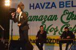Havza Belediyesince İlçede Düzenlenen Ramazan Etkinlikleri Kapsamında İlahi Konseri Düzenlendi.