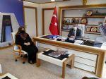Ak Parti Havza Kadın Kollarından Başkan Özdemir'e Ziyaret