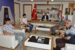 Havza Belediye Başkanı Sebahattin Özdemir 2019 Liselere Giriş Sınavı'nda ( Lgs ) Tüm Soruları Doğru Cevaplayarak 500 Tam Puanla Türkiye 1.si Olan Selman İşleri Ağırladı.