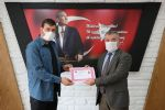 Havza Belediye Başkanı Özdemir Teşekkür Belgesi Verdi