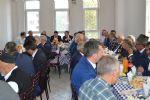Havza'da 19 Eylül Gaziler Günü dolayısı ile anma programı kapsamında gaziler onuruna  yemek düzenlendi.