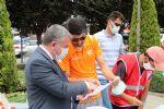 Başkan Özdemir Proje Açılışına Katıldı