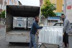 Havza Belediye Başkanı Sebahattin Özdemir ilçe merkezinde bulunan çöp konteynırlarının yenisi ile değiştirildiğini belirtti.